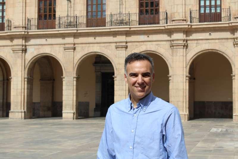 El portavoz de Ciudadanos en Castellón, Alejandro Marín-Buck. EPDA