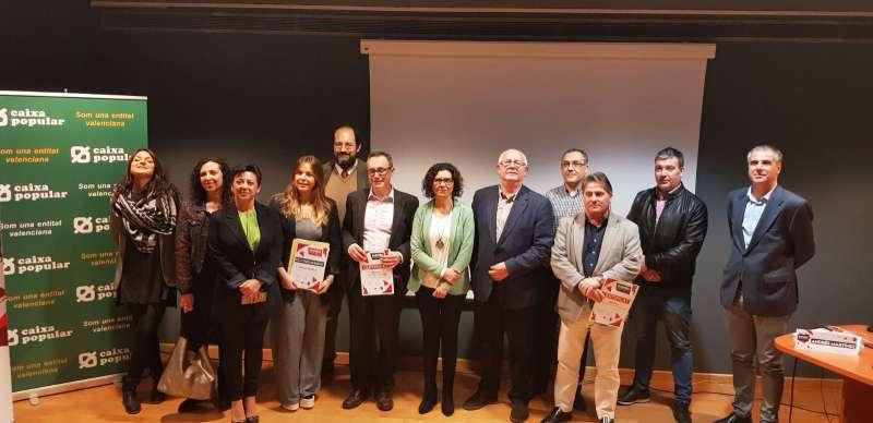 Participantes en la jornada ?Emprén Paiporta FP 2018? con la alcaldesa de este municipio, Isabel Marín. EPDA