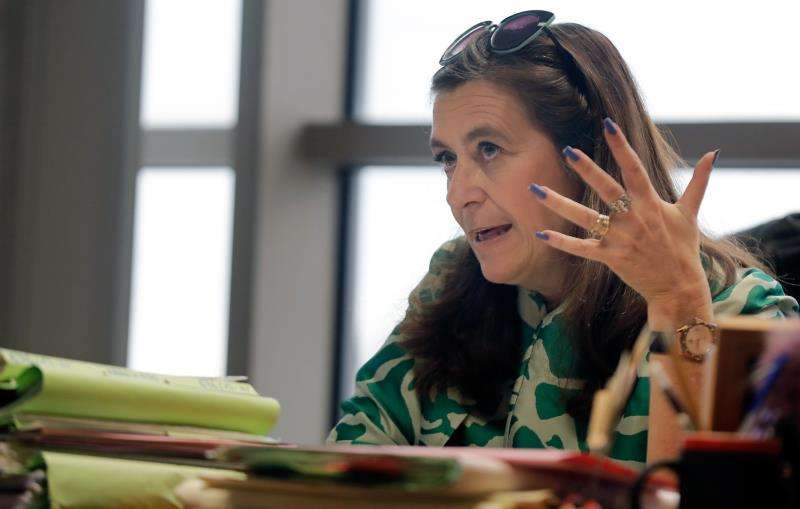 La fiscal valenciana especializada en violencia de género Susana Gisbert. EFE/Archivo