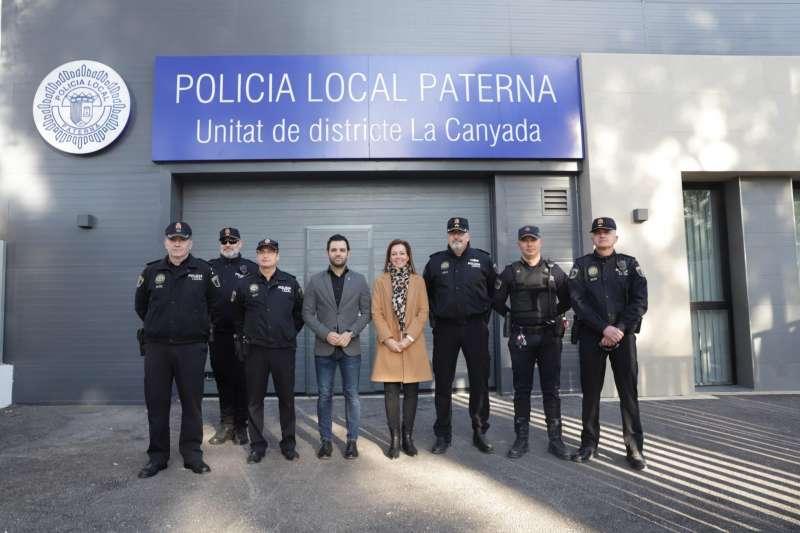 Retén de la Policía de La Canyada. EPDA