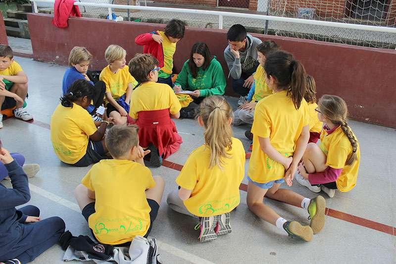 Los niños disfrutan de todo tipo de actividades. EPDA.