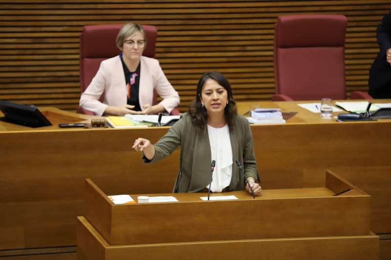La portavoz de Sanidad de Ciudadanos (Cs) en Les Corts valencianas, Yaneth Giraldo. EPDA