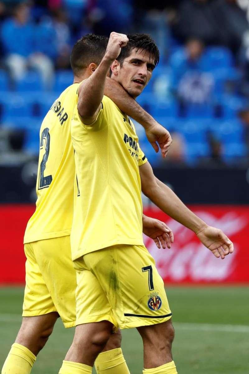 El delantero del Villarreal Gerard Moreno. EFE/Sebastián Mariscal