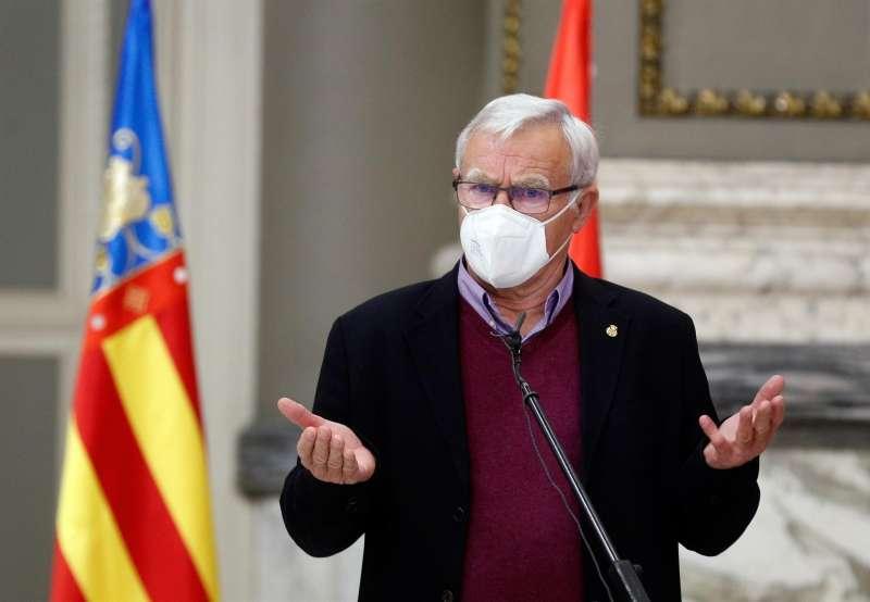 El alcalde de València, Joan Ribó. EFE/ Kai Försterling/Archivo