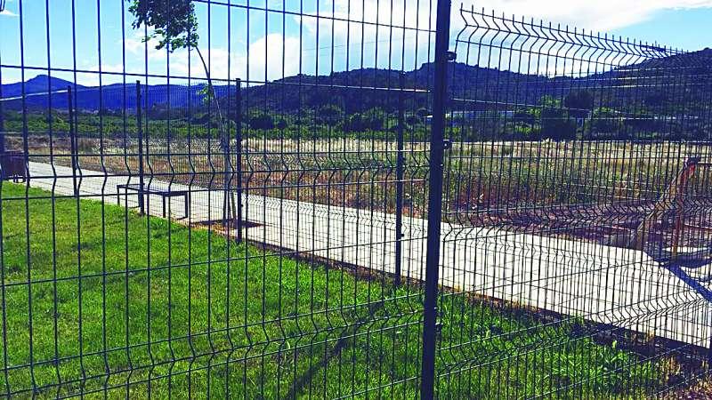 Zona donde iba la zona deportiva y educativa. EPDA