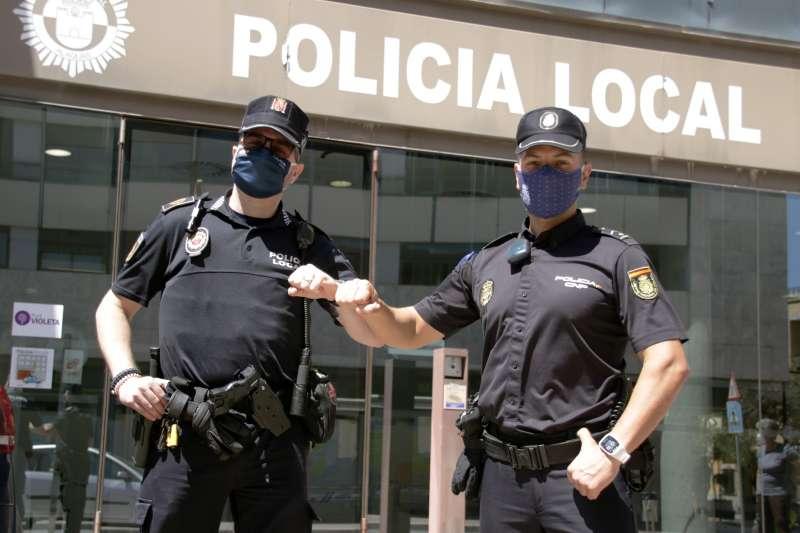 Colaboración entre policías