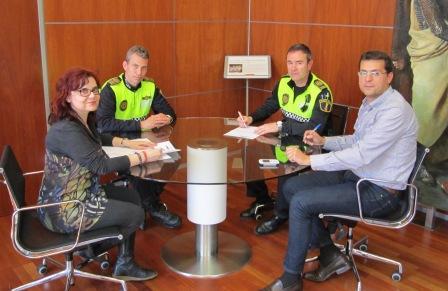 Antonio Oliver fue nombrado Inspector de la Policía Local de Alfafar la pasada semana. FOTO: EPDA.