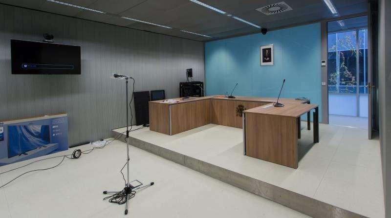 Sala de juicios de un juzgado de lo Social. EFE/Archivo