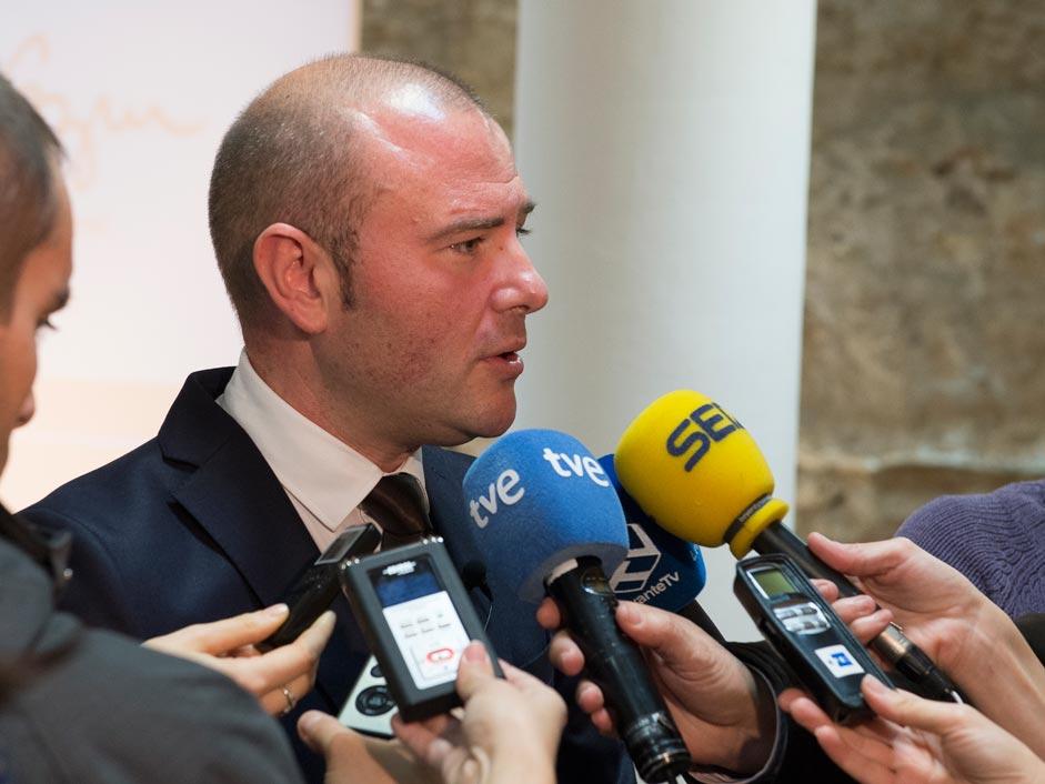 Toni Gaspar, alcalde de Faura. FOTO EPDA