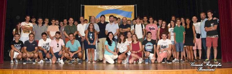 Foto de familia del II Festival de Música Interncional de Benissanó. EPDA