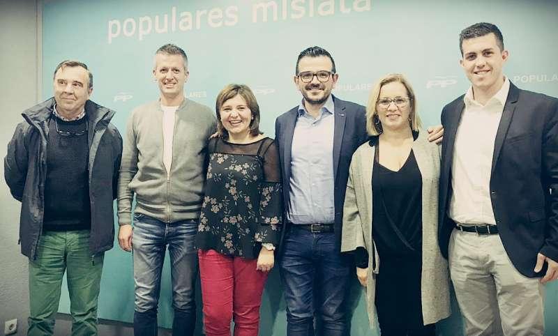 Populares Mislata con Isabel Bonig. EPDA