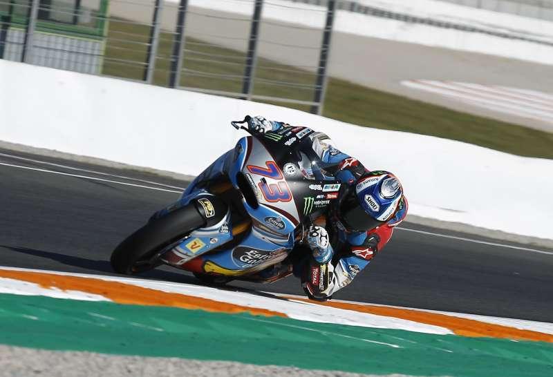 Moto en el circuito Ricardo Tormo. EPDA.