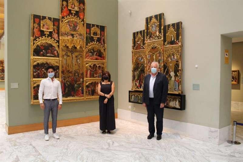 Pablo González Tornel (izq) dirigirá el Museo de Bellas Artes de València desde el próximo mes de septiembre en sustitución de Carlos Reyero Hermosilla (der). EFE