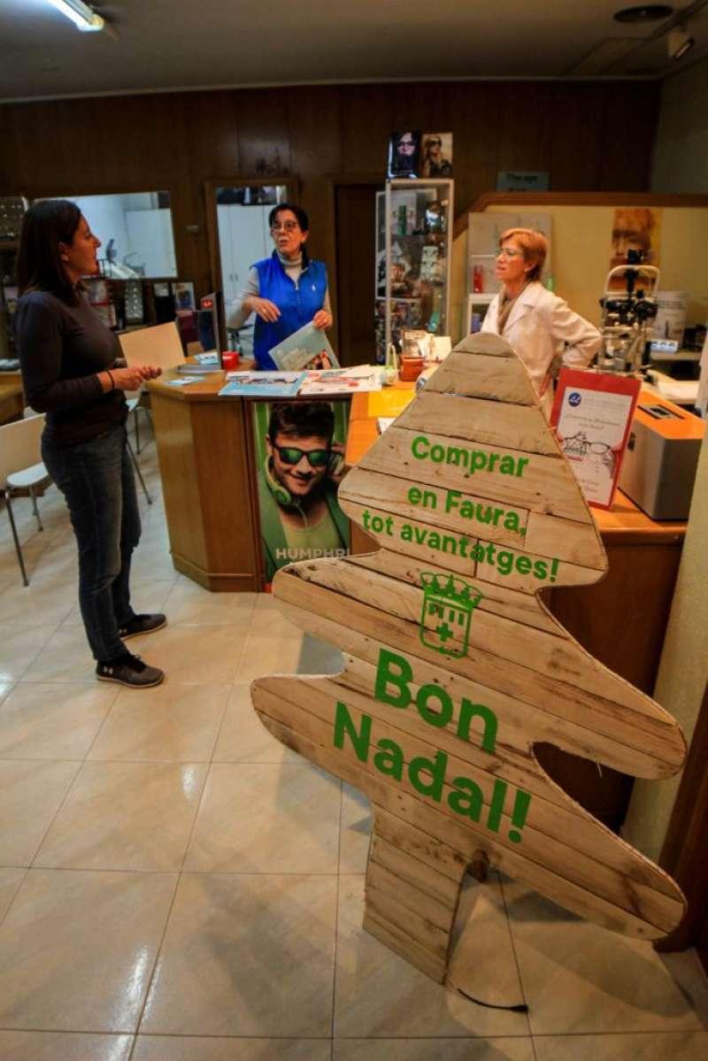 Campanya de comerç local a Faura. EPDA