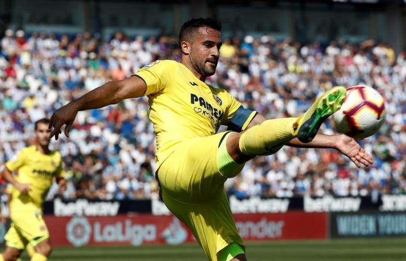 El jugador del Villarreal Mario Gaspar. EFE/Archivo