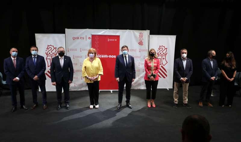 Ximo Puig en el Auditorio de Castellón