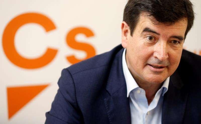 El candidato de Ciudadanos (Cs) a la alcaldía de Valencia, Fernando Giner. EFE/Archivo