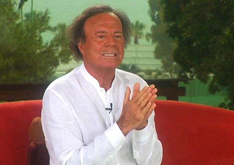 Julio Iglesias, en un momento de una entrevista concedida a EFE en Marbella. EFE/Archivo