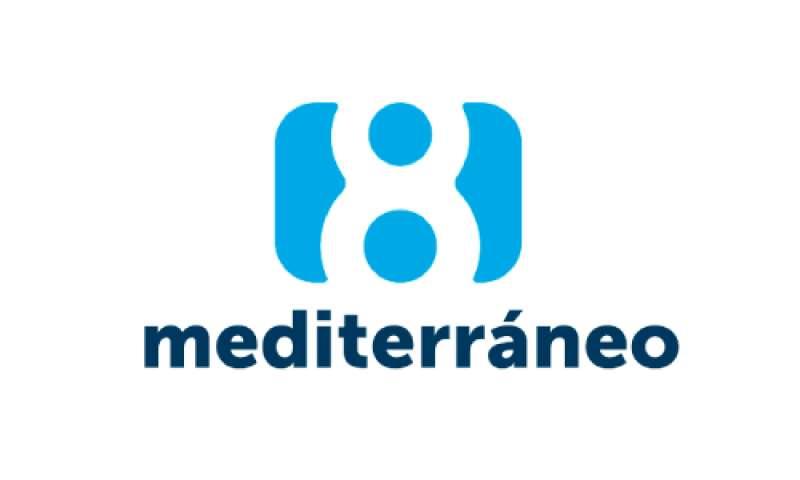 Logo de La 8 Mediterráneo.