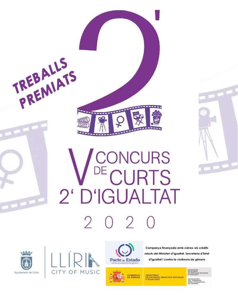 Cartel Concurso de Cortos de Igualdad. / EPDA