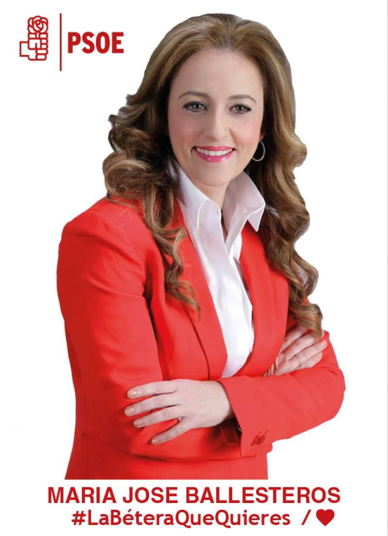 María José Ballesteros, candidata del PSOE a la alcaldía de Bétera./epda