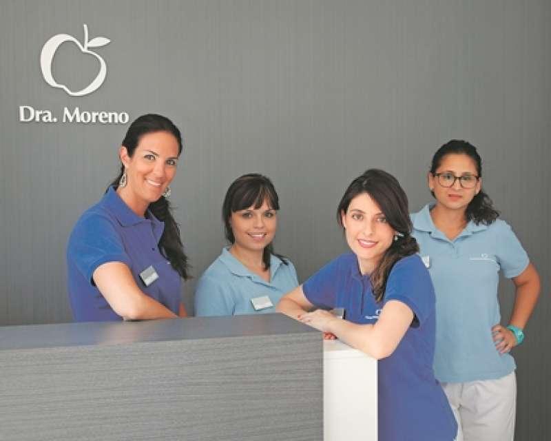 La formación y profesionalidad distinguen al equipo de la doctora Moreno. EPDA