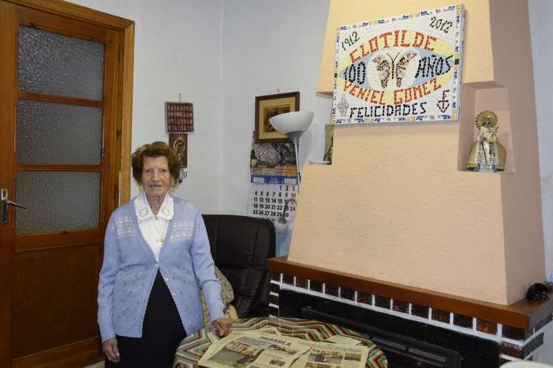 Clotilde, voluntaria de Cáritas España - EPDA