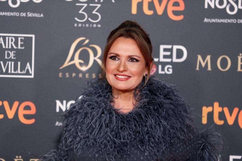 La soprano Ainhoa Arteta, en la gala de los Premios Goya 2019, en una imagen de febrero en Sevilla.EFE/Archivo