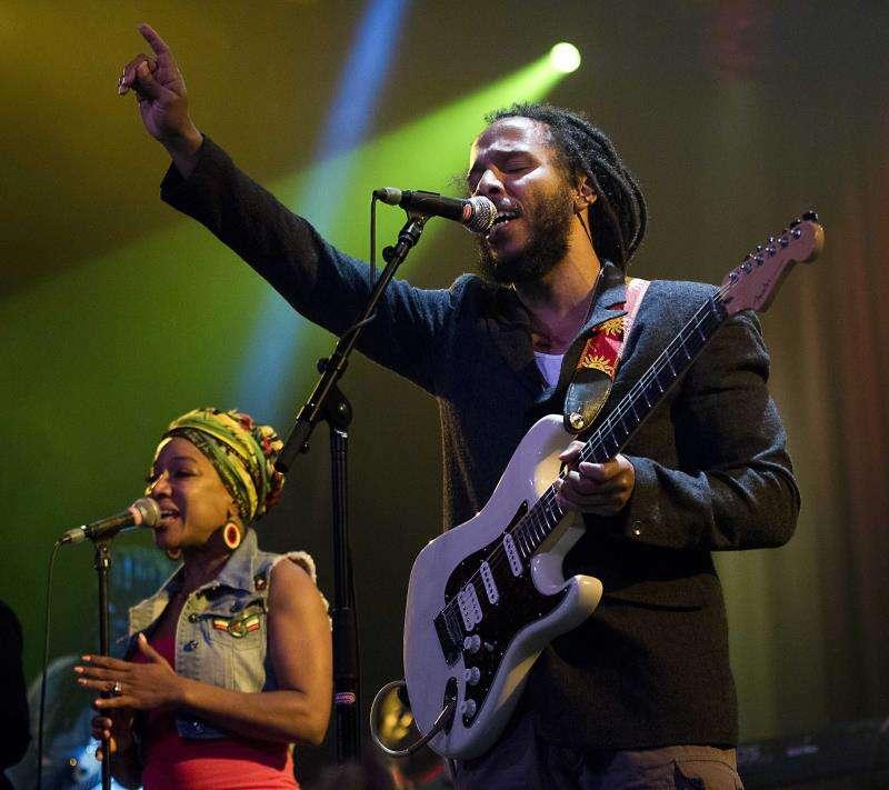 El cantante jamaiquino Ziggy Marley, hijo del legendario músico Bob Marley. EFE/Archivo