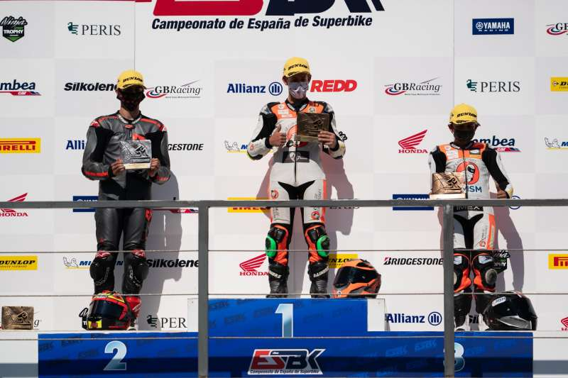 En Promo3, César Parrilla se alzó con la victoria de la primera carrera. EPDA.