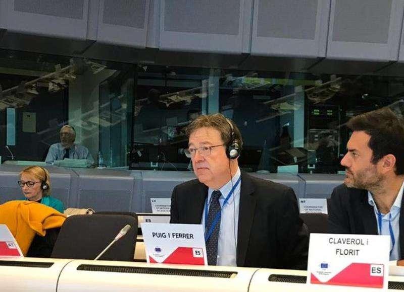 El President Puig en Bruselas / EFE