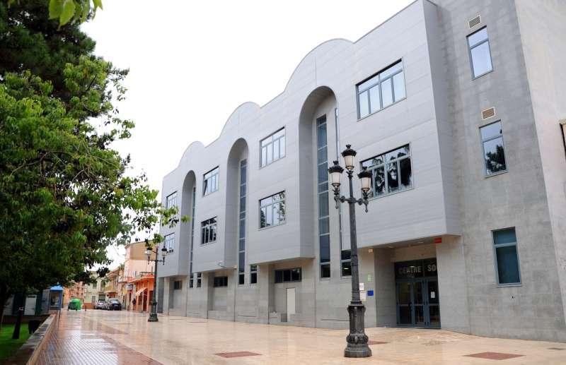El centre social de La Pobla.//EPDA