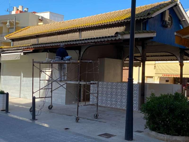 Rehabilitación Mercado Municipal./EPDA