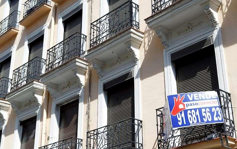 Imagen de archivo de un piso en venta. EFE/Darwin