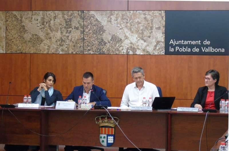 Un moment del plenari de La Pobla. //EPDA