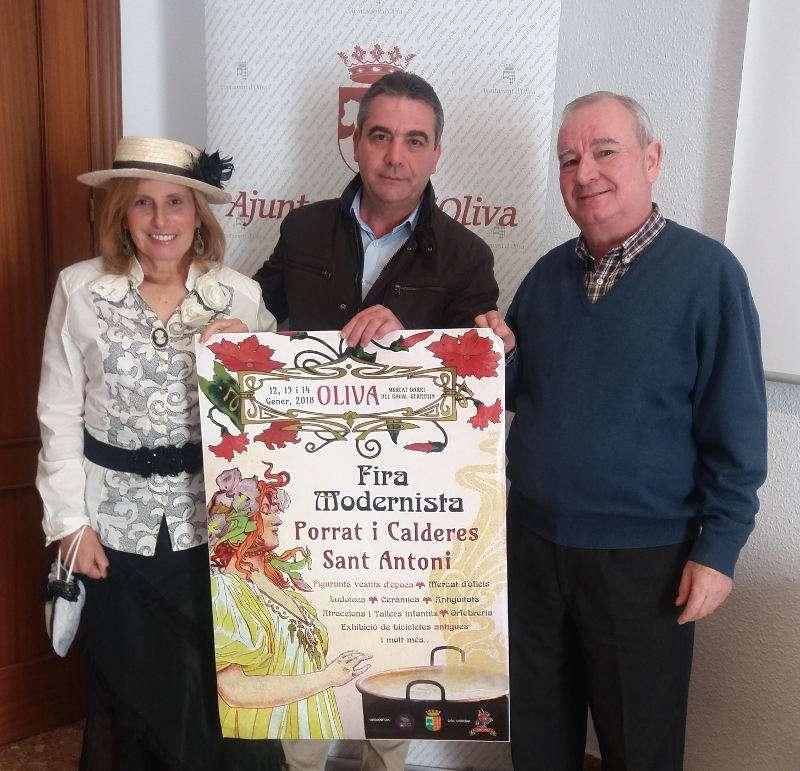 Presentació de la festa del Porrat a Oliva. EPDA