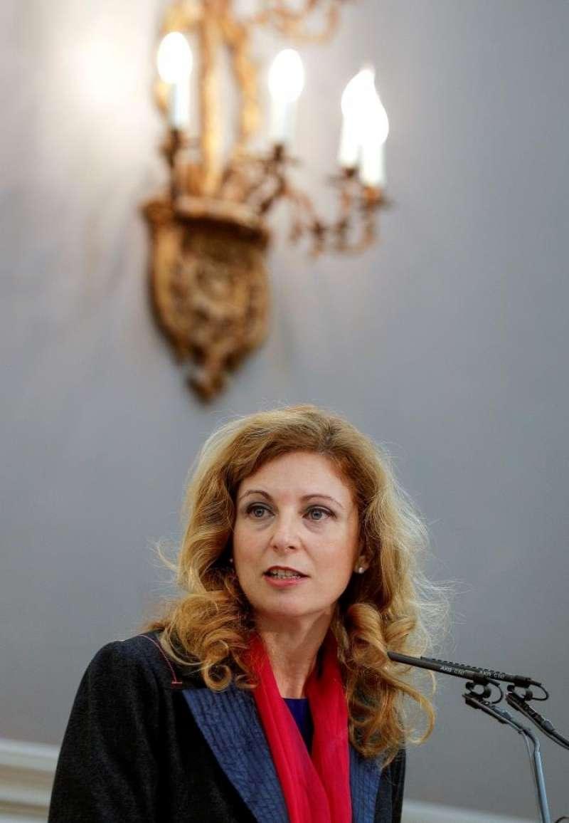 Alcaldesa de Castellón cierra su cuenta de Twitter tras recibir amenazas e insultos La alcaldesa de Castellón, Amparo Marco, durante una intervención en el Fórum Europa Tribuna Mediterránea. EFE/Archivo