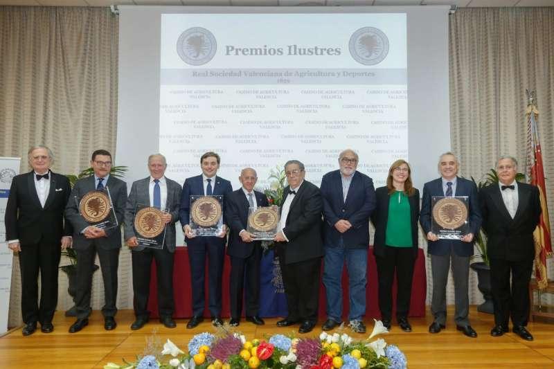 Galardonados de los Premios Ilustres 2019. -EPDA