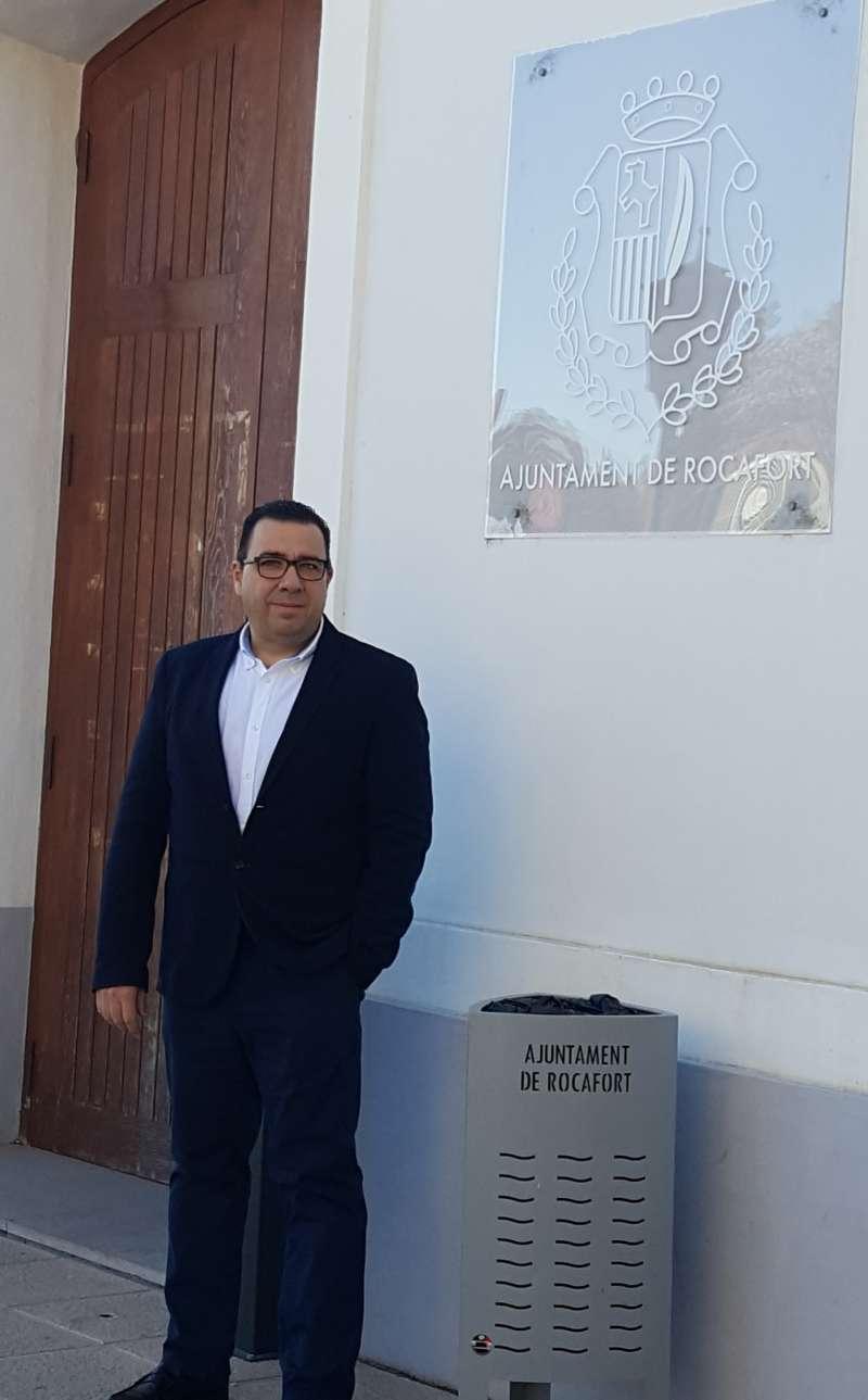 El portavoz de Contigo Rocafort, Juan Fernández. EPDA
