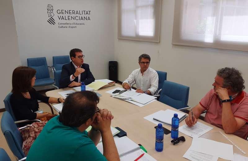 Reunión ayuntamiento y conselleria
