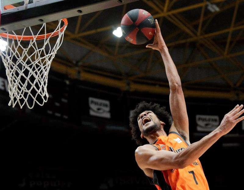 El jugador del Valencia Basket Louis Labeyrie. EFE/Archivo