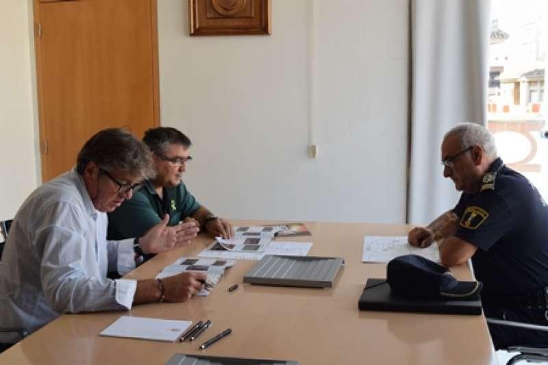 Reunió sobre seguretat a Sedaví. EPDA