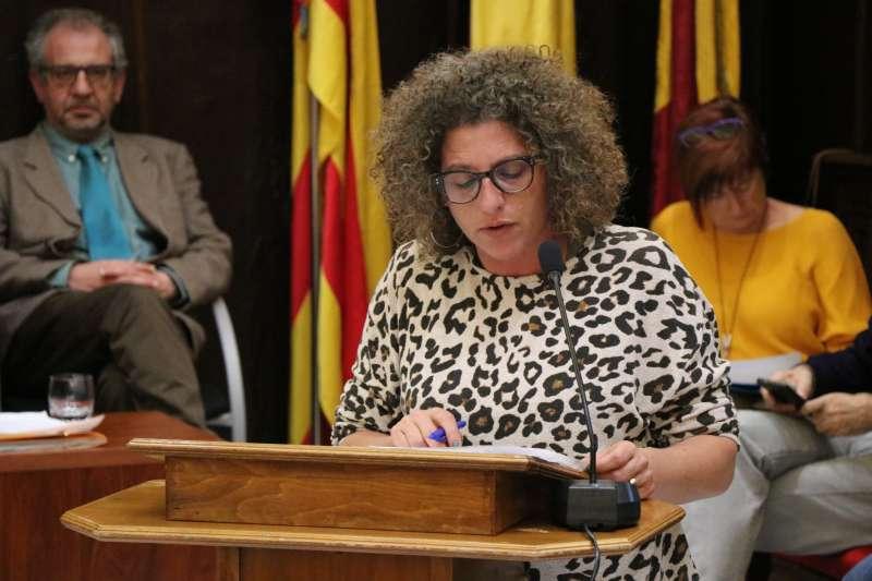 La concejala de Servicios Sociales del Ayuntamiento de Sagunt. EPDA