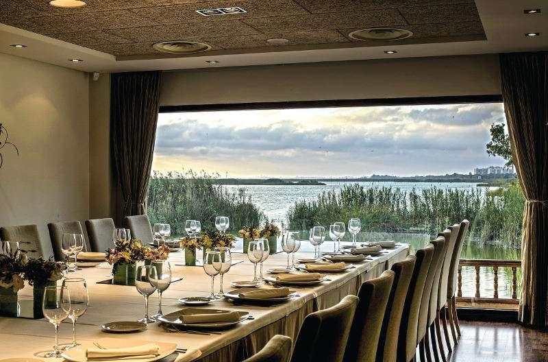 Salón MIrador del restaurante Nou Racó de El Palmar. EPDA