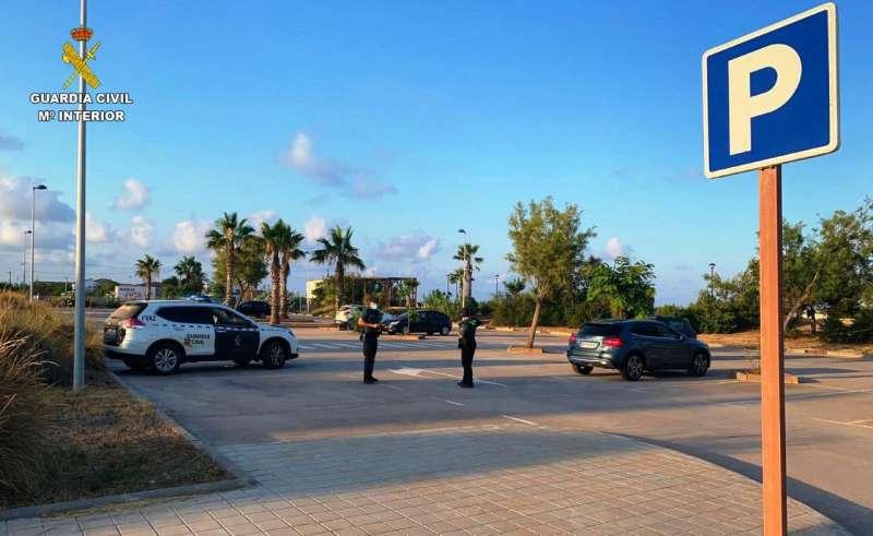 La detención la realizó la Guardia Civil de Almenara