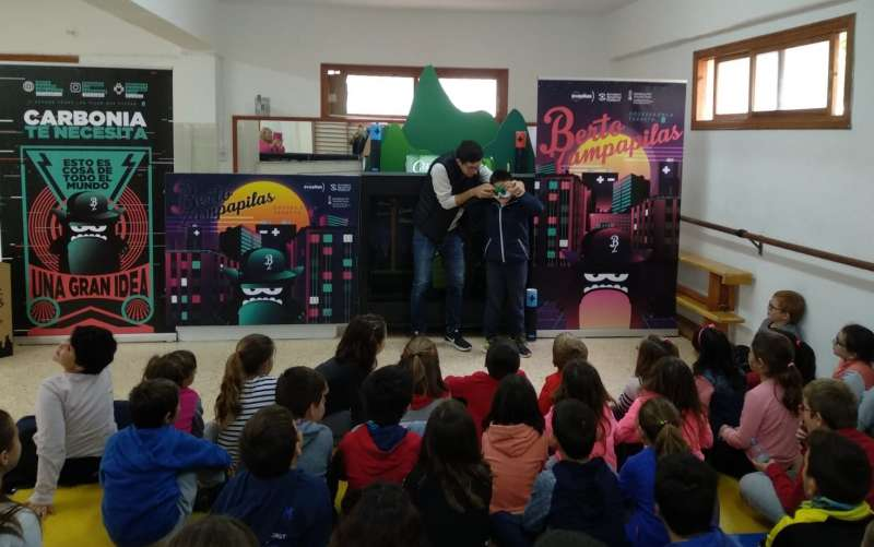 La campaña en un colegio de la Comunitat. EPDA