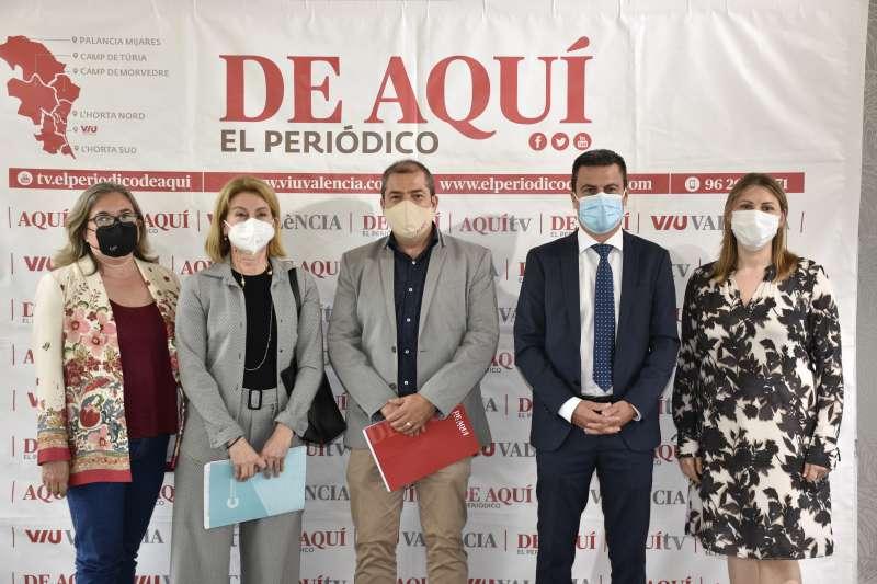 Algunos de los representantes en el acto. / EPDA