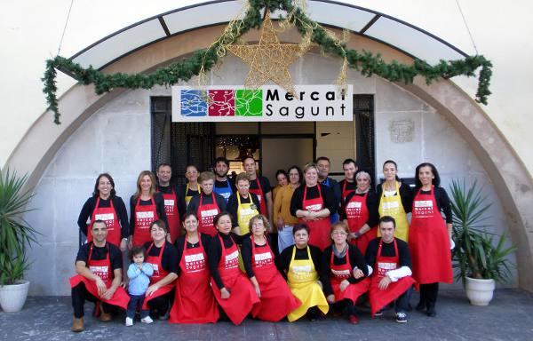 Los vendedores del Mercado de Sagunto. EPDA
