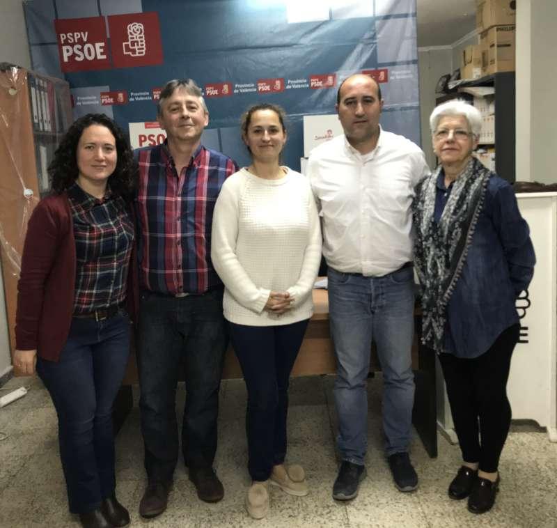 Nueva Ejecutiva PSPV-PSOE Massamagrell. EPDA