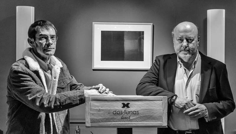 Los editores Víctro Segrelles y Juan Pablo Zapater